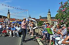 Alte Mainbrücke Kitzingen  Ökumenischer Gottesdienst
